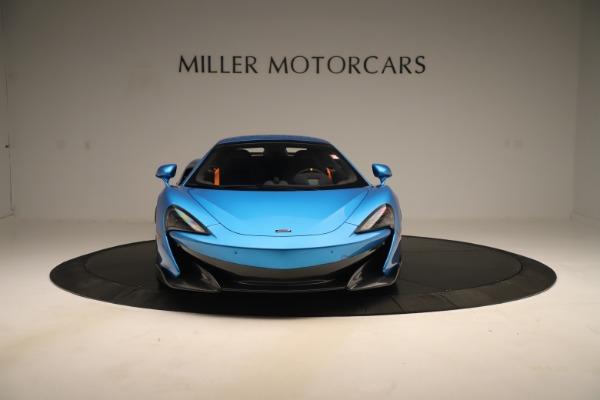New 2020 McLaren 600LT SPIDER Convertible for sale $303,059 at Rolls-Royce Motor Cars Greenwich in Greenwich CT 06830 9
