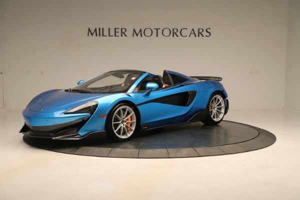 New 2020 McLaren 600LT SPIDER Convertible for sale $303,059 at Rolls-Royce Motor Cars Greenwich in Greenwich CT 06830 1