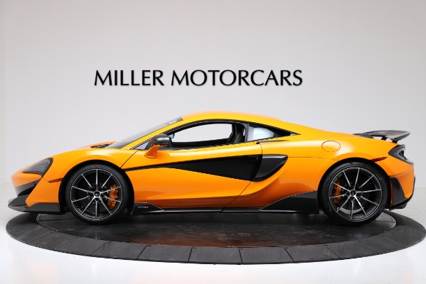 New 2019 McLaren 600LT Coupe for sale Call for price at Rolls-Royce Motor Cars Greenwich in Greenwich CT 06830 3