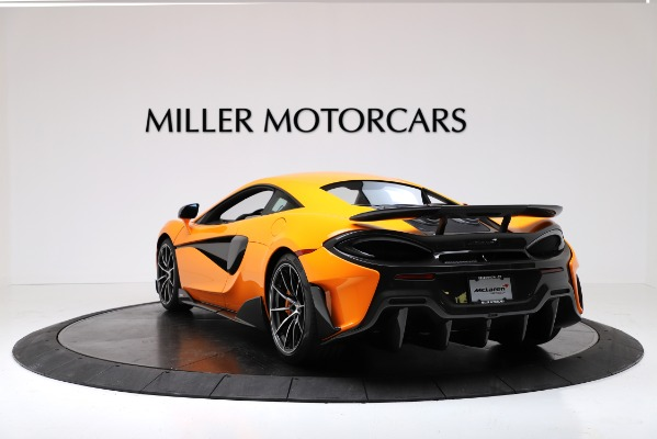 New 2019 McLaren 600LT Coupe for sale Call for price at Rolls-Royce Motor Cars Greenwich in Greenwich CT 06830 5