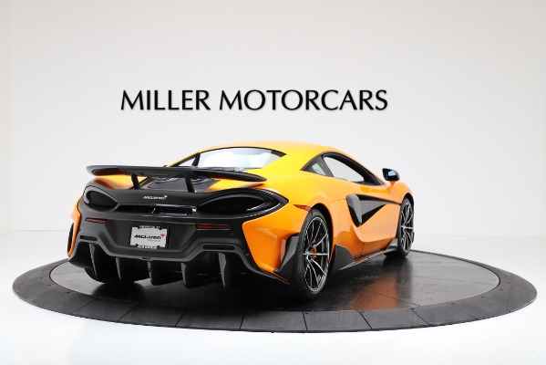 New 2019 McLaren 600LT Coupe for sale Call for price at Rolls-Royce Motor Cars Greenwich in Greenwich CT 06830 7
