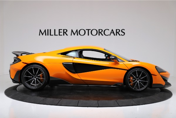 New 2019 McLaren 600LT Coupe for sale Call for price at Rolls-Royce Motor Cars Greenwich in Greenwich CT 06830 9
