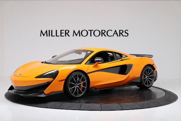 New 2019 McLaren 600LT Coupe for sale Call for price at Rolls-Royce Motor Cars Greenwich in Greenwich CT 06830 1