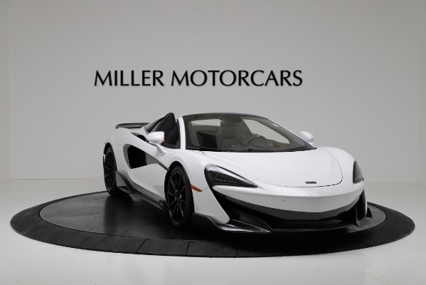 New 2020 McLaren 600LT Convertible for sale Sold at Rolls-Royce Motor Cars Greenwich in Greenwich CT 06830 11