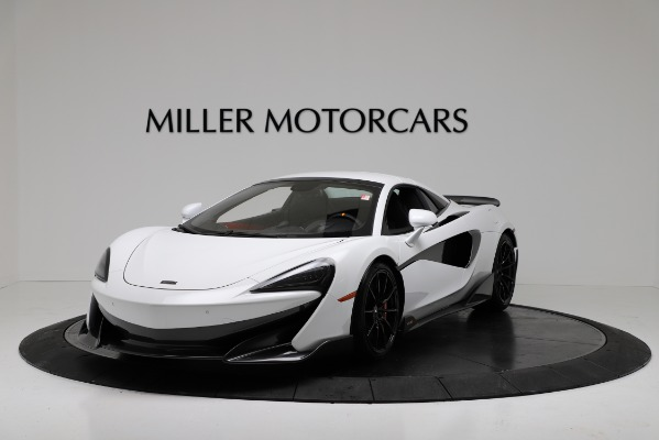 New 2020 McLaren 600LT Convertible for sale Sold at Rolls-Royce Motor Cars Greenwich in Greenwich CT 06830 13