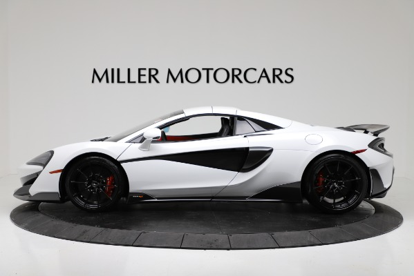 New 2020 McLaren 600LT Convertible for sale Sold at Rolls-Royce Motor Cars Greenwich in Greenwich CT 06830 14
