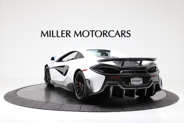 New 2020 McLaren 600LT Convertible for sale Sold at Rolls-Royce Motor Cars Greenwich in Greenwich CT 06830 15