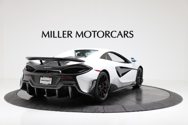 New 2020 McLaren 600LT Convertible for sale Sold at Rolls-Royce Motor Cars Greenwich in Greenwich CT 06830 16