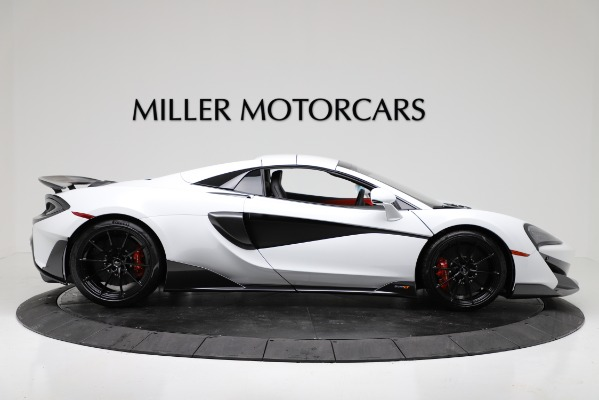 New 2020 McLaren 600LT Convertible for sale Sold at Rolls-Royce Motor Cars Greenwich in Greenwich CT 06830 17