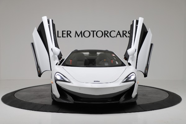 New 2020 McLaren 600LT Convertible for sale Sold at Rolls-Royce Motor Cars Greenwich in Greenwich CT 06830 19