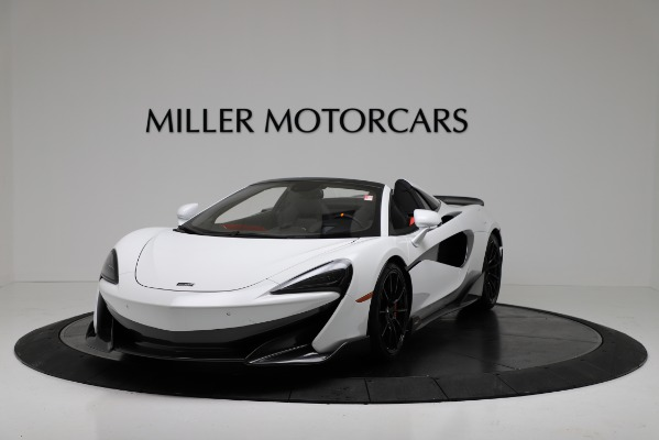 New 2020 McLaren 600LT Convertible for sale Sold at Rolls-Royce Motor Cars Greenwich in Greenwich CT 06830 2