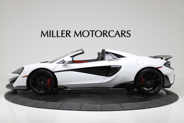 New 2020 McLaren 600LT Convertible for sale Sold at Rolls-Royce Motor Cars Greenwich in Greenwich CT 06830 3