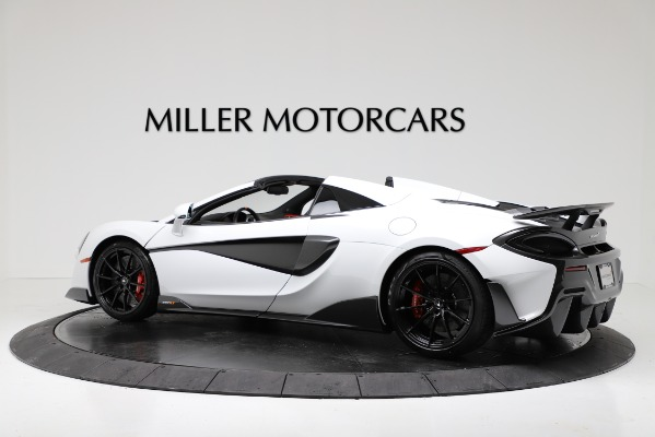 New 2020 McLaren 600LT Convertible for sale Sold at Rolls-Royce Motor Cars Greenwich in Greenwich CT 06830 4