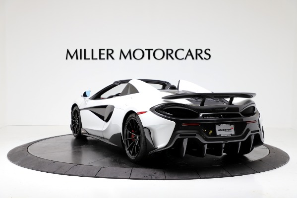 New 2020 McLaren 600LT Convertible for sale Sold at Rolls-Royce Motor Cars Greenwich in Greenwich CT 06830 5
