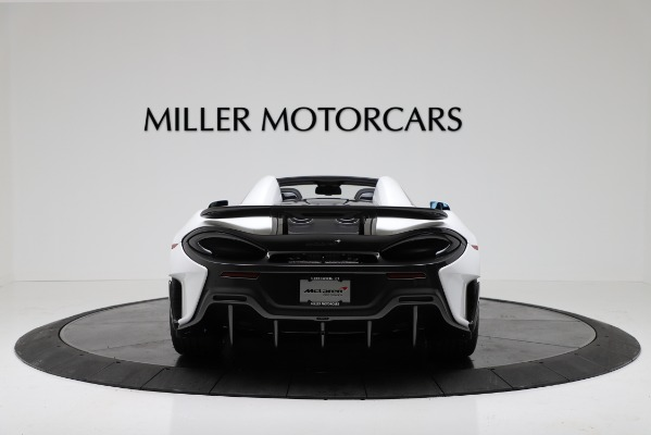New 2020 McLaren 600LT Convertible for sale Sold at Rolls-Royce Motor Cars Greenwich in Greenwich CT 06830 6