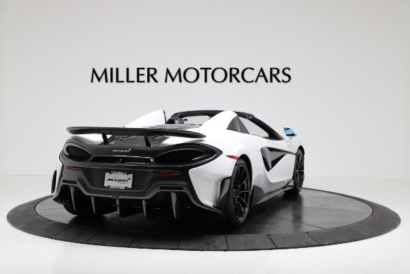 New 2020 McLaren 600LT Convertible for sale Sold at Rolls-Royce Motor Cars Greenwich in Greenwich CT 06830 7