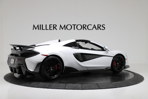 New 2020 McLaren 600LT Convertible for sale Sold at Rolls-Royce Motor Cars Greenwich in Greenwich CT 06830 8