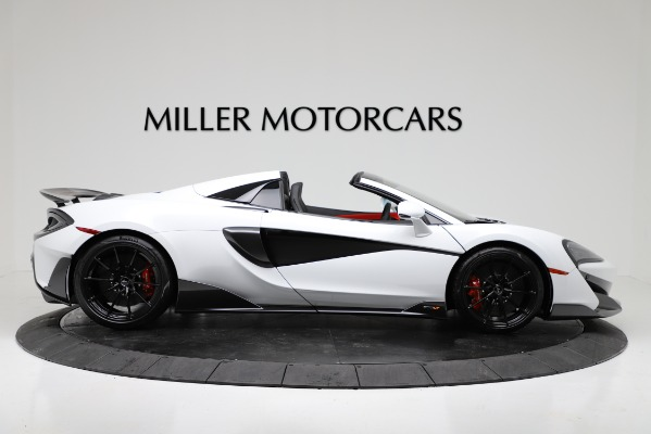 New 2020 McLaren 600LT Convertible for sale Sold at Rolls-Royce Motor Cars Greenwich in Greenwich CT 06830 9
