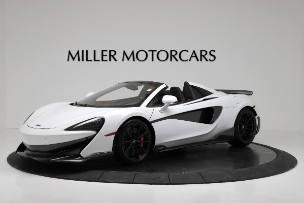 New 2020 McLaren 600LT Convertible for sale Sold at Rolls-Royce Motor Cars Greenwich in Greenwich CT 06830 1