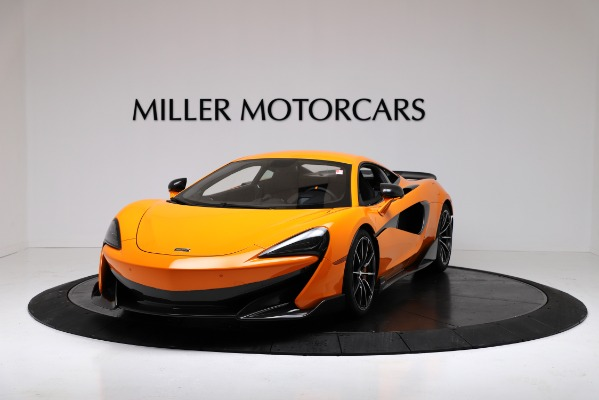 New 2019 McLaren 600LT for sale $279,310 at Rolls-Royce Motor Cars Greenwich in Greenwich CT 06830 2