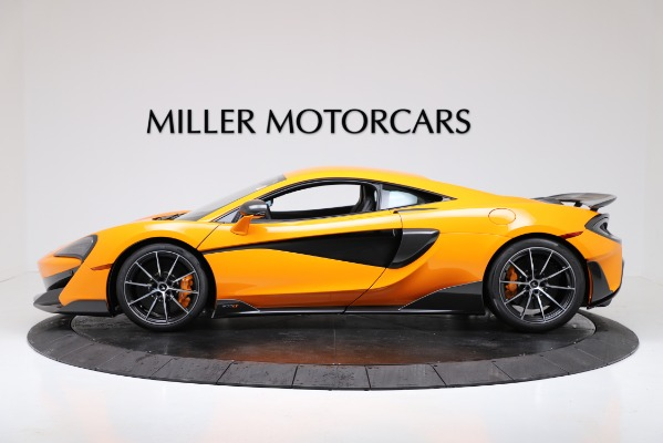 New 2019 McLaren 600LT for sale $279,310 at Rolls-Royce Motor Cars Greenwich in Greenwich CT 06830 3