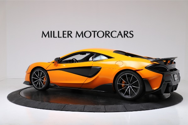 New 2019 McLaren 600LT for sale $279,310 at Rolls-Royce Motor Cars Greenwich in Greenwich CT 06830 4