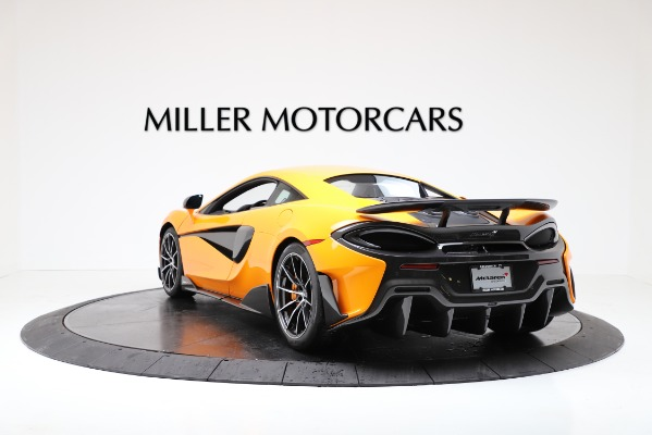 New 2019 McLaren 600LT for sale $279,310 at Rolls-Royce Motor Cars Greenwich in Greenwich CT 06830 5