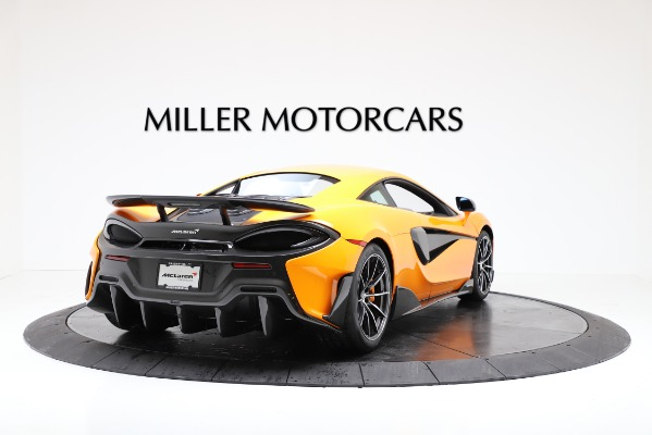 New 2019 McLaren 600LT Coupe for sale $279,310 at Rolls-Royce Motor Cars Greenwich in Greenwich CT 06830 7