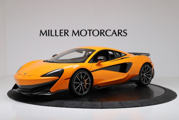 New 2019 McLaren 600LT for sale $279,310 at Rolls-Royce Motor Cars Greenwich in Greenwich CT 06830 1