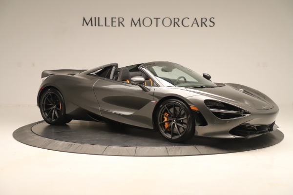 New 2020 McLaren 720S SPIDER Convertible for sale Sold at Rolls-Royce Motor Cars Greenwich in Greenwich CT 06830 7