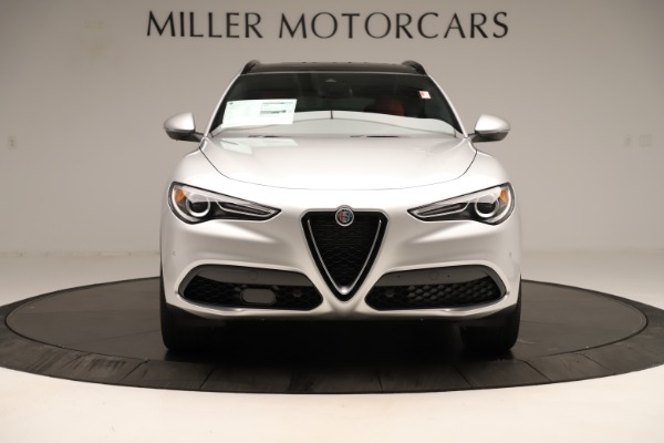 New 2019 Alfa Romeo Stelvio Ti Sport Q4 for sale Sold at Rolls-Royce Motor Cars Greenwich in Greenwich CT 06830 12