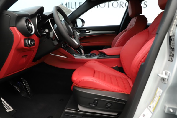 New 2019 Alfa Romeo Stelvio Ti Sport Q4 for sale Sold at Rolls-Royce Motor Cars Greenwich in Greenwich CT 06830 14
