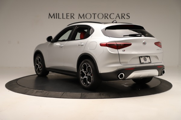 New 2019 Alfa Romeo Stelvio Ti Sport Q4 for sale Sold at Rolls-Royce Motor Cars Greenwich in Greenwich CT 06830 5