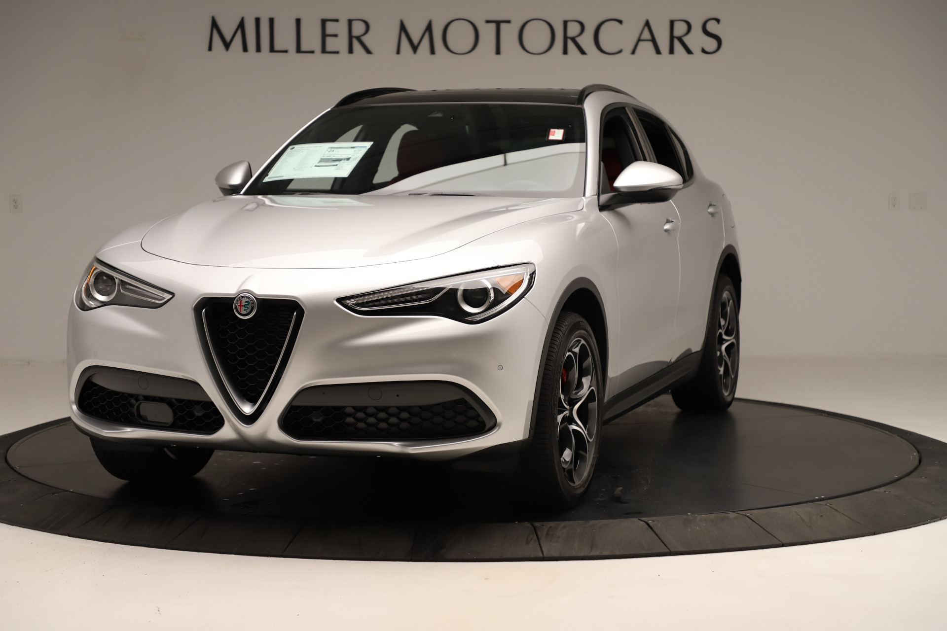 New 2019 Alfa Romeo Stelvio Ti Sport Q4 for sale Sold at Rolls-Royce Motor Cars Greenwich in Greenwich CT 06830 1