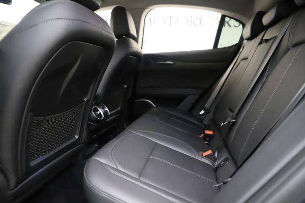 New 2019 Alfa Romeo Stelvio Ti Q4 for sale Sold at Rolls-Royce Motor Cars Greenwich in Greenwich CT 06830 19
