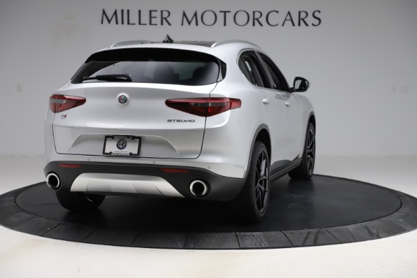 New 2019 Alfa Romeo Stelvio Ti Q4 for sale Sold at Rolls-Royce Motor Cars Greenwich in Greenwich CT 06830 7