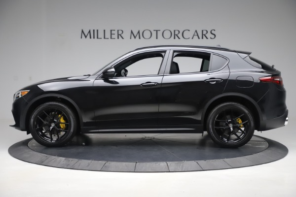New 2019 Alfa Romeo Stelvio Ti Q4 for sale Sold at Rolls-Royce Motor Cars Greenwich in Greenwich CT 06830 3