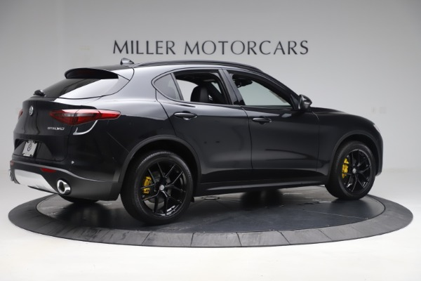 New 2019 Alfa Romeo Stelvio Ti Q4 for sale Sold at Rolls-Royce Motor Cars Greenwich in Greenwich CT 06830 8