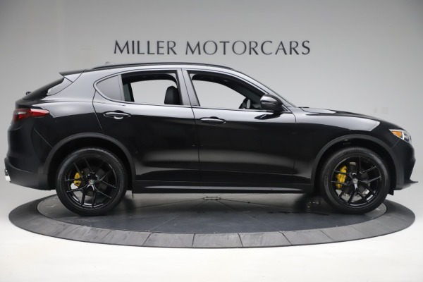New 2019 Alfa Romeo Stelvio Ti Q4 for sale Sold at Rolls-Royce Motor Cars Greenwich in Greenwich CT 06830 9