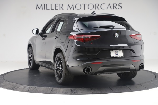 New 2019 Alfa Romeo Stelvio Ti Q4 for sale Sold at Rolls-Royce Motor Cars Greenwich in Greenwich CT 06830 5