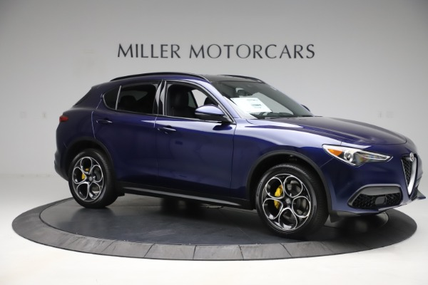 New 2019 Alfa Romeo Stelvio Ti Sport Q4 for sale Sold at Rolls-Royce Motor Cars Greenwich in Greenwich CT 06830 10