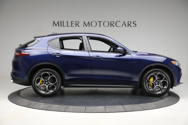 New 2019 Alfa Romeo Stelvio Ti Sport Q4 for sale Sold at Rolls-Royce Motor Cars Greenwich in Greenwich CT 06830 9