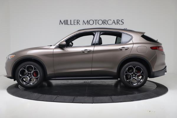 New 2019 Alfa Romeo Stelvio Ti Sport Q4 for sale Sold at Rolls-Royce Motor Cars Greenwich in Greenwich CT 06830 3