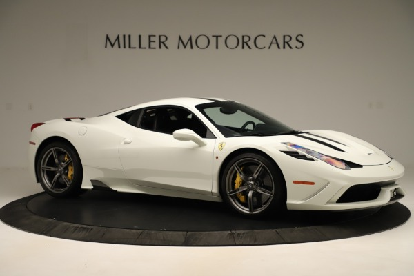 Used 2014 Ferrari 458 Speciale for sale $359,900 at Rolls-Royce Motor Cars Greenwich in Greenwich CT 06830 10
