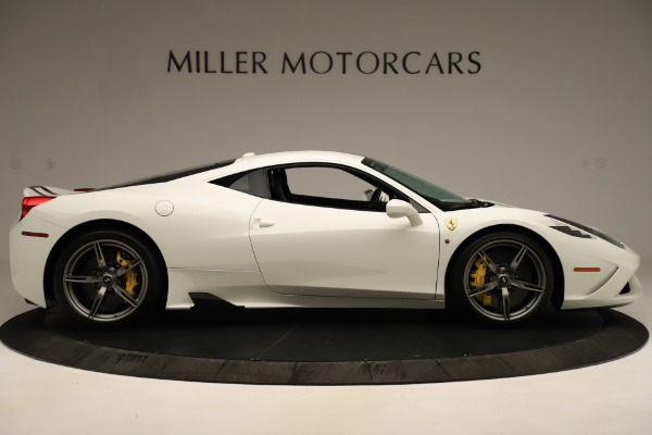 Used 2014 Ferrari 458 Speciale for sale $359,900 at Rolls-Royce Motor Cars Greenwich in Greenwich CT 06830 9