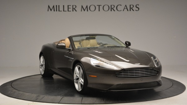Used 2012 Aston Martin Virage Convertible for sale Sold at Rolls-Royce Motor Cars Greenwich in Greenwich CT 06830 11