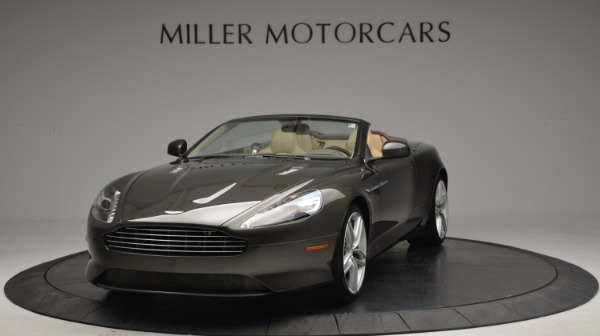 Used 2012 Aston Martin Virage Convertible for sale Sold at Rolls-Royce Motor Cars Greenwich in Greenwich CT 06830 13