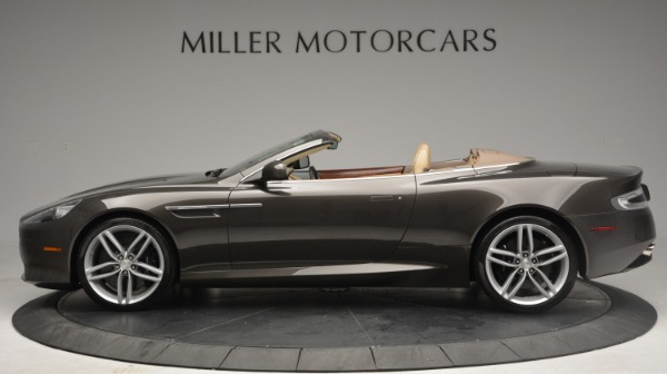 Used 2012 Aston Martin Virage Convertible for sale Sold at Rolls-Royce Motor Cars Greenwich in Greenwich CT 06830 3