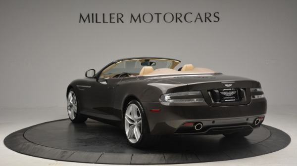 Used 2012 Aston Martin Virage Convertible for sale Sold at Rolls-Royce Motor Cars Greenwich in Greenwich CT 06830 5
