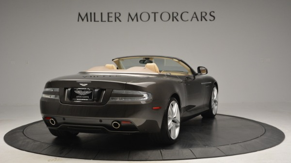 Used 2012 Aston Martin Virage Convertible for sale Sold at Rolls-Royce Motor Cars Greenwich in Greenwich CT 06830 7